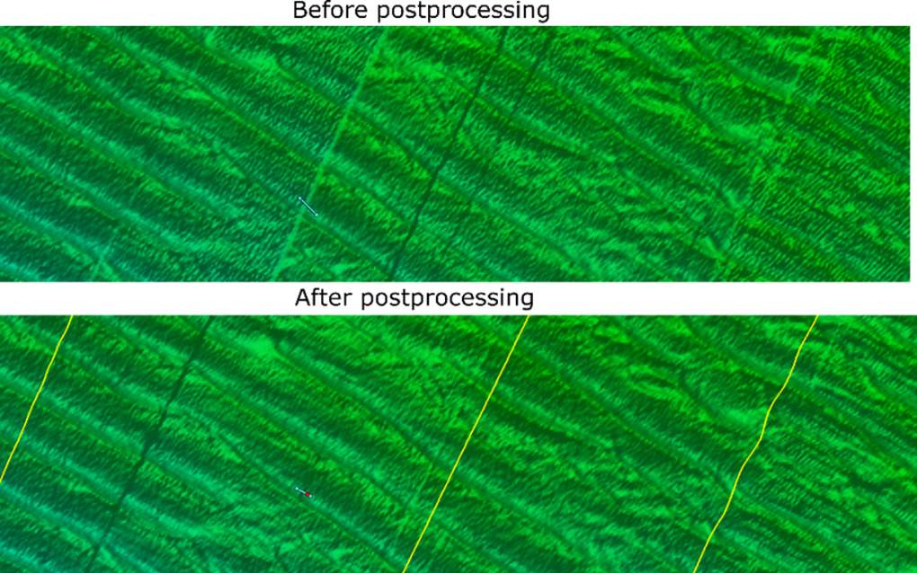 Before After Processing